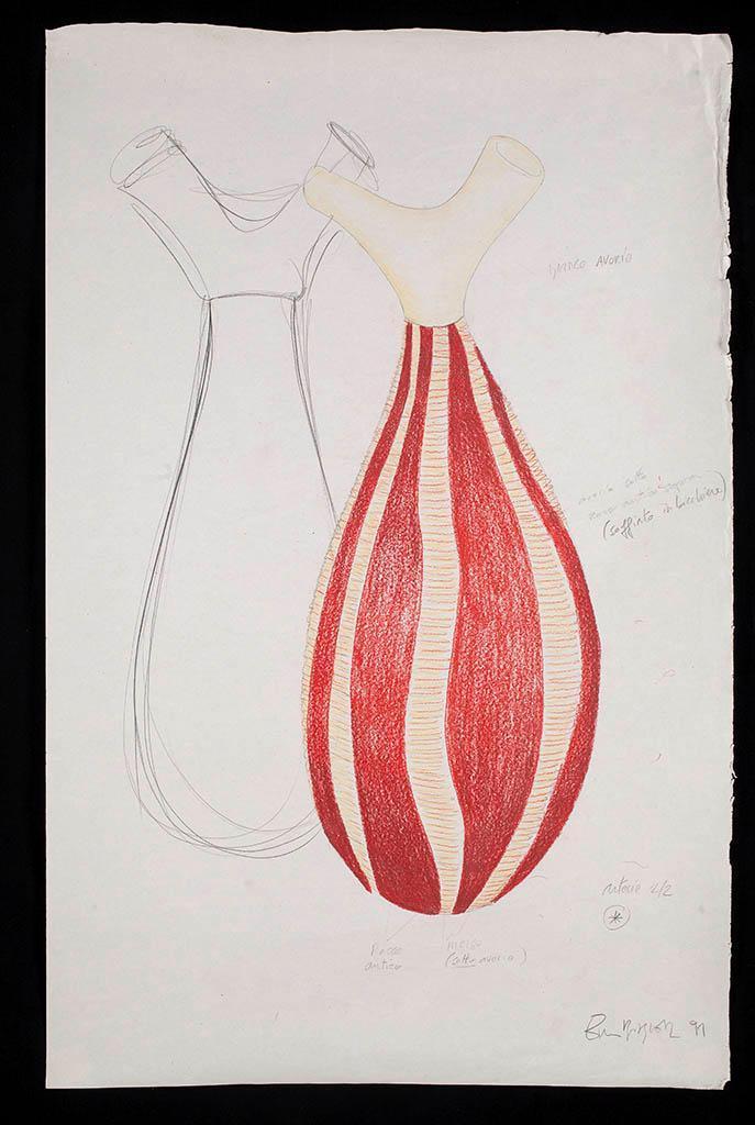 Vaso Collezione Primaire, modello VII 1991