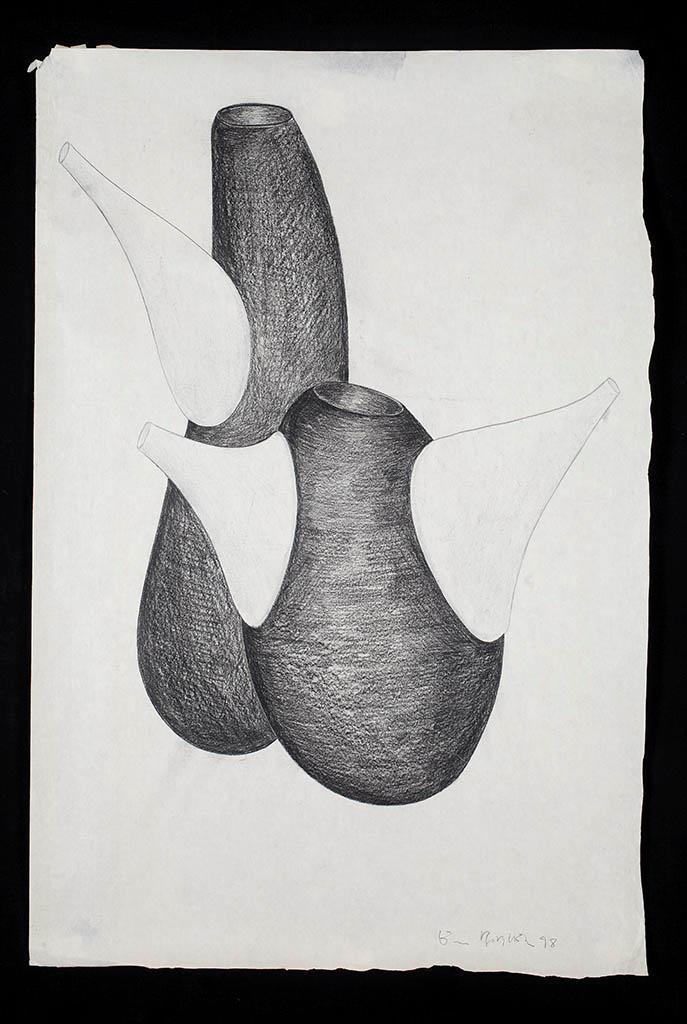 Vasi [studi per collezione Primaire] 1998