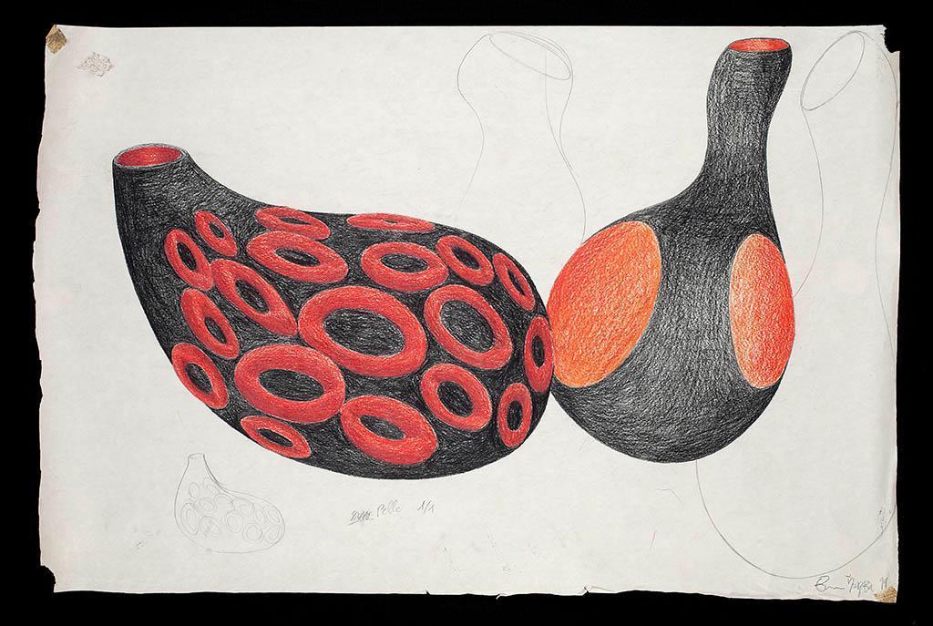 Studio per vasi collezione Primaire (con modello XV) 1999
