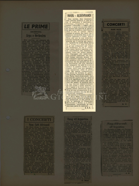 Haug - Aldrovandi  s.d. [post 1950]