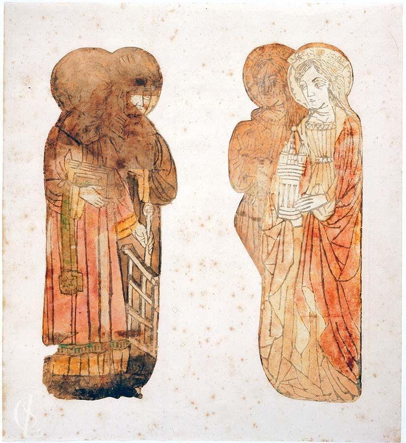 Santa Barbara e Santa Caterina d'Alessandria
