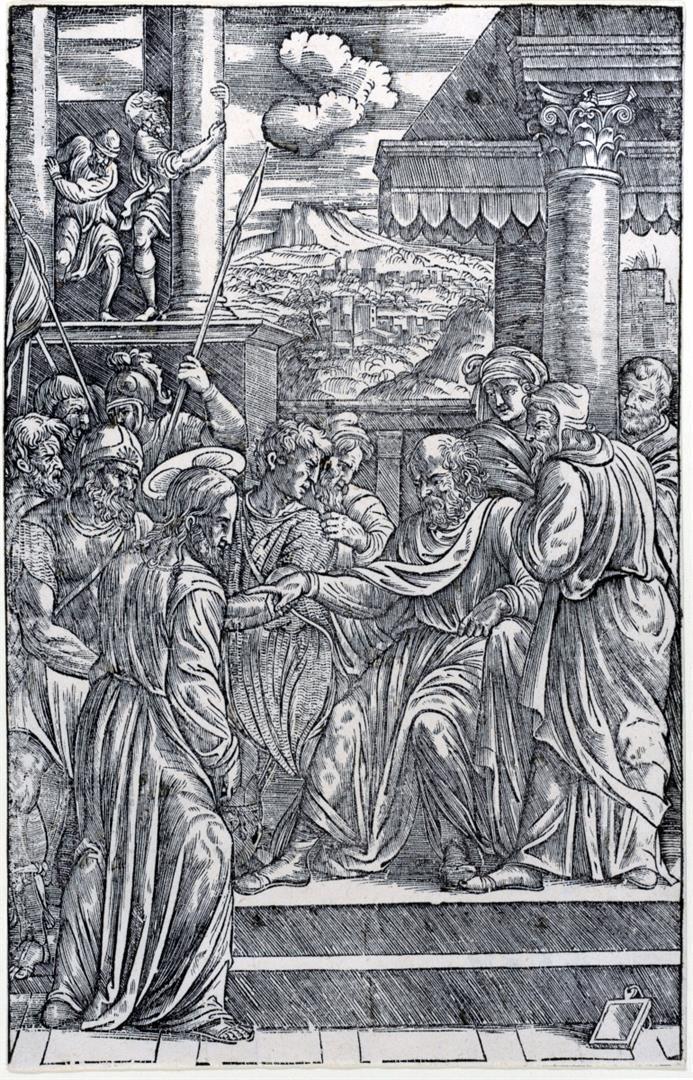 CRISTO INTERROGATO DA PILATO v. Cristo davanti a Pilato