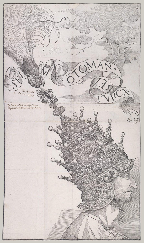 Ritratto del sultano Solimano detto il Magnifico