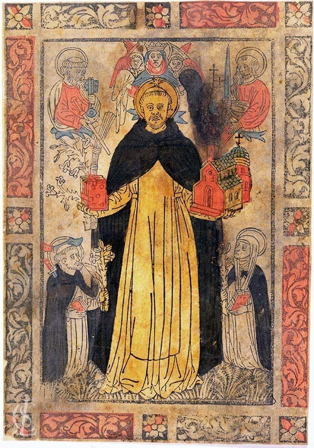 San Domenico con San Pietro Martire e Santa Caterina da Siena