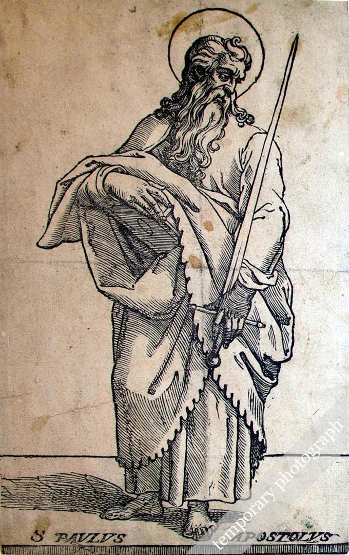 Cristo e i dodici Apostoli: San Paolo