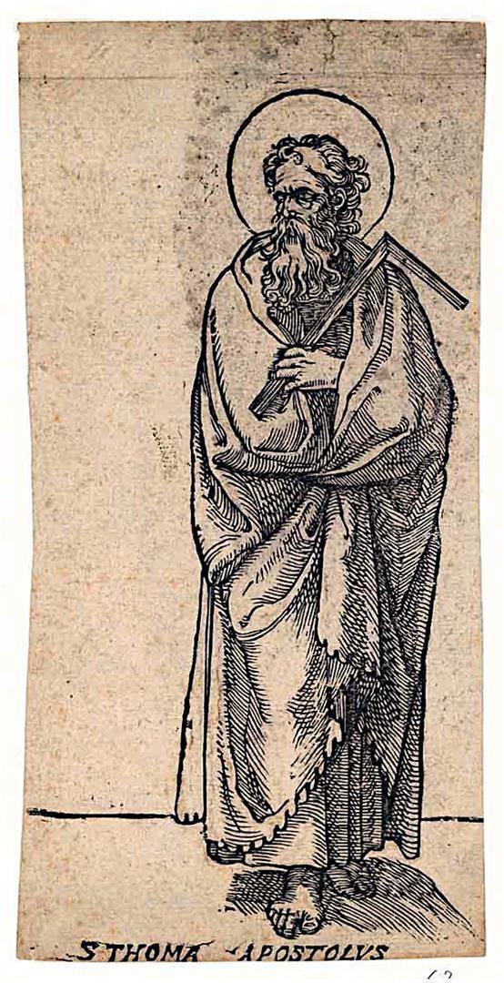 Cristo e i dodici Apostoli: San Tommaso