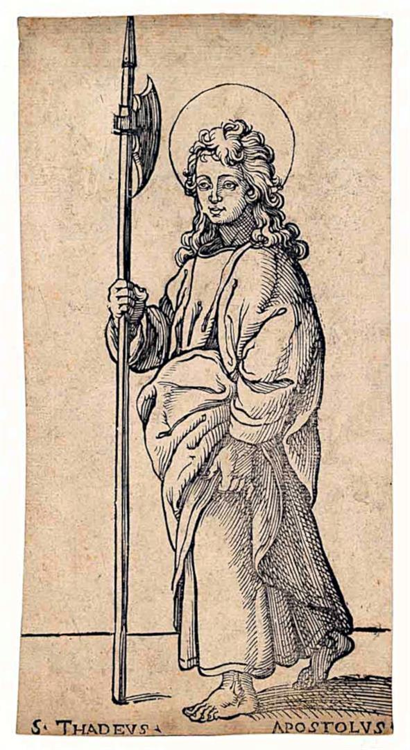 Cristo e i dodici Apostoli: San Giuda Taddeo