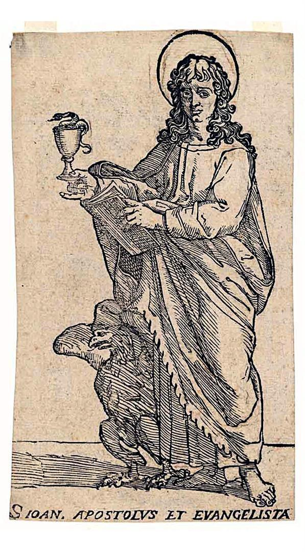 Cristo e i dodici Apostoli: San Giovanni Evangelista