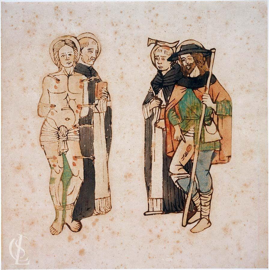 San Sebastiano e San Vincenzo Ferrer San Pietro martire e San Rocco