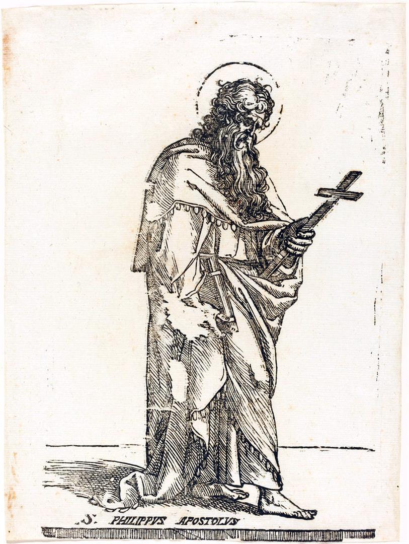 Cristo e i dodici Apostoli: San Filippo