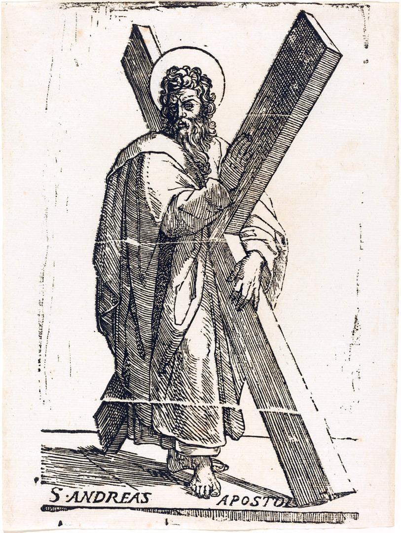 Cristo e i dodici Apostoli: Sant'Andrea