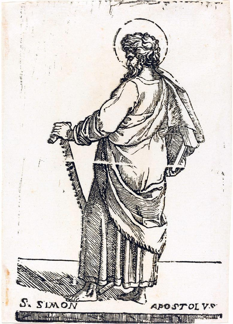 Cristo e i dodici Apostoli: San Simone
