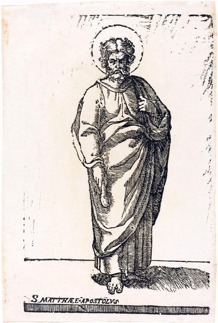 Cristo e i dodici Apostoli: San Matteo