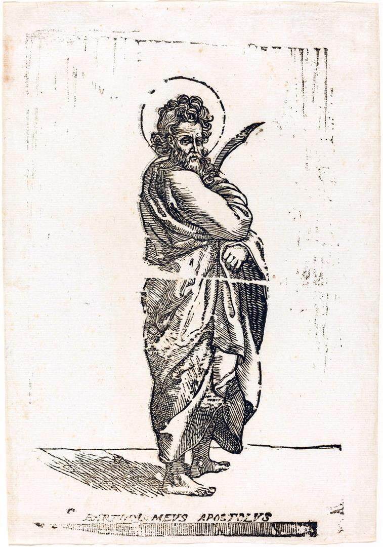 Cristo e i dodici Apostoli: San Bartolomeo