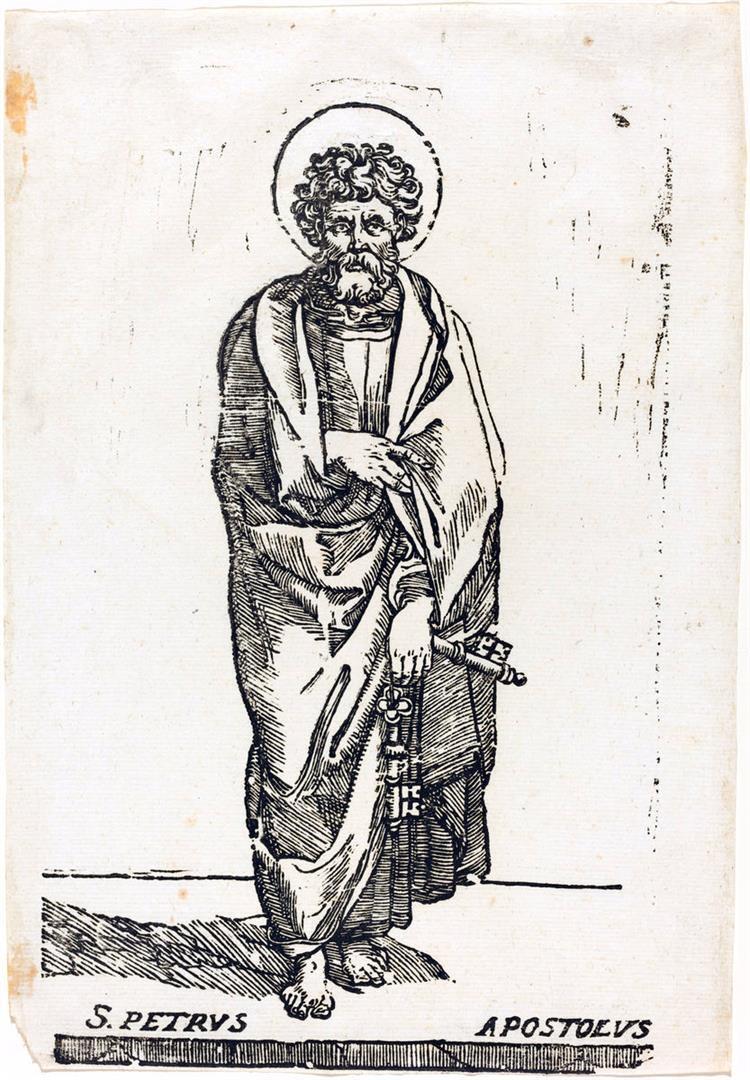Cristo e i dodici Apostoli: San Pietro