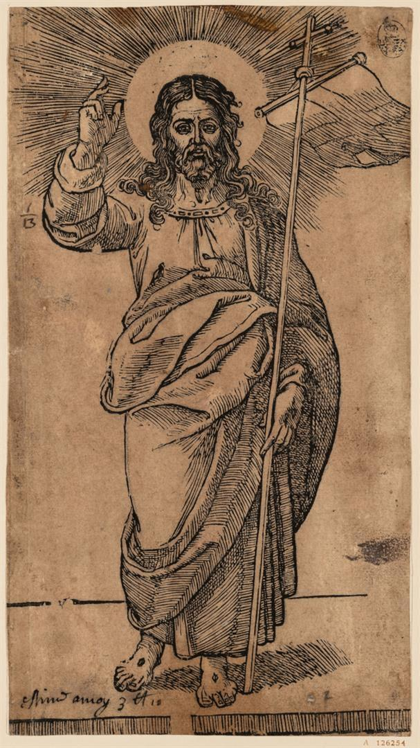Cristo e i dodici Apostoli: Gesù Cristo