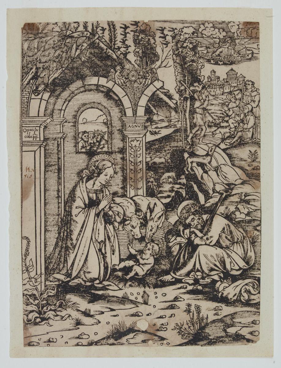 Adorazione del Bambino con i Magi e i Pastori