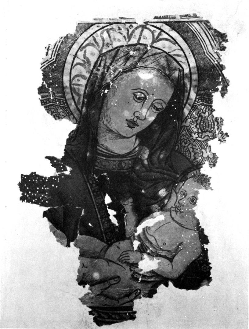 Madonna che allatta il Bambino