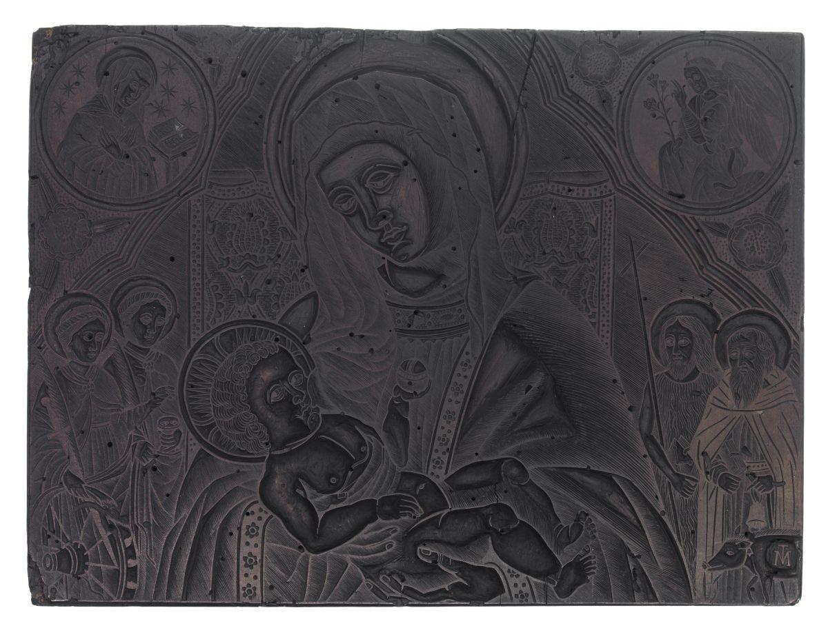 Madonna col Bambino e quattro Santi (Sant'Antonio abate, San Giovanni Battista, Santa Lucia e Santa Caterina)