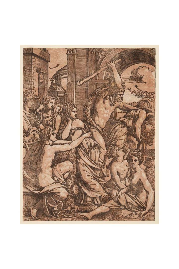 Ercole scaccia l'Avarizia dal tempio delle Muse (Versione B)