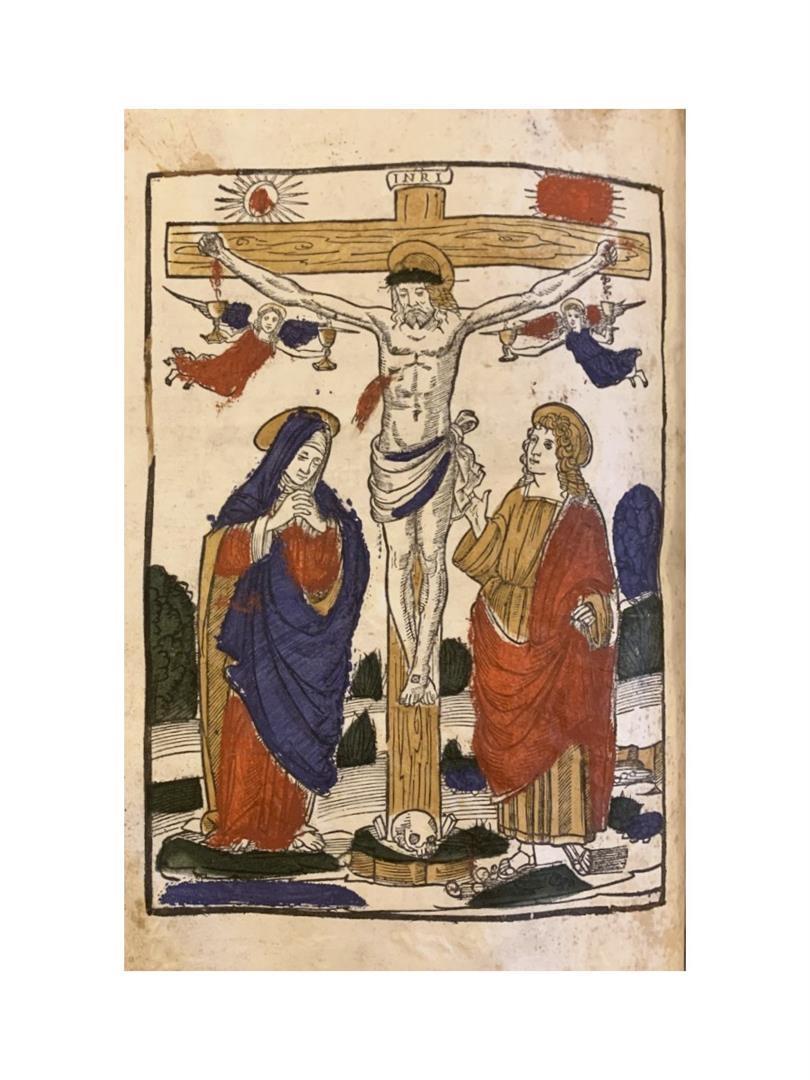 Crocifissione con la Vergine e San Giovanni