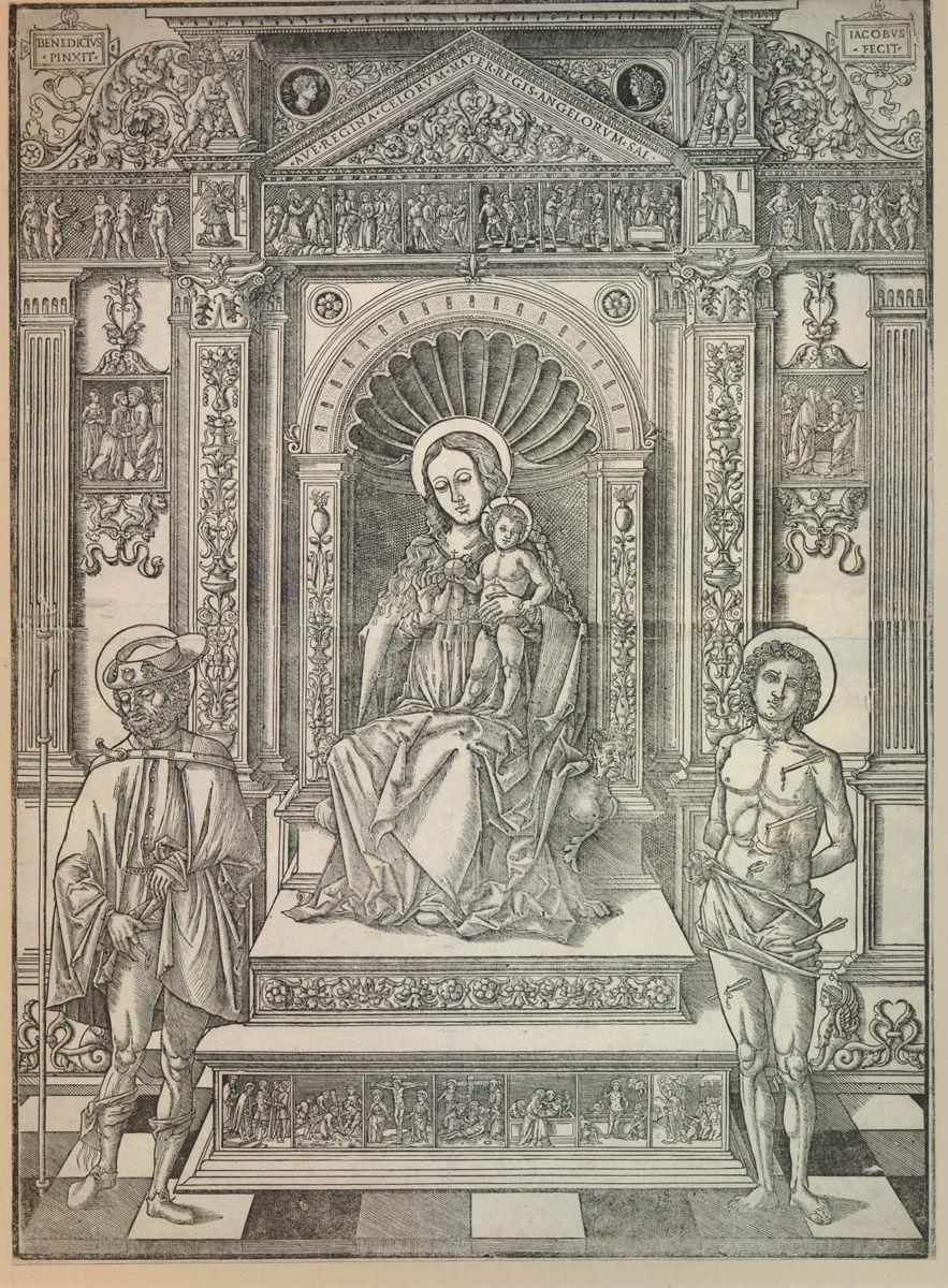 Madonna col Bambino in trono tra san Rocco e San Sebastiano