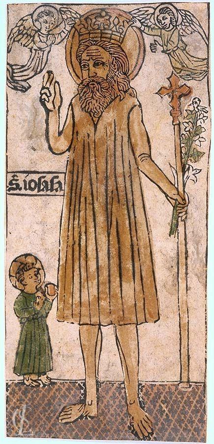 San Giuseppe incoronato da due angeli e Gesù Bambino