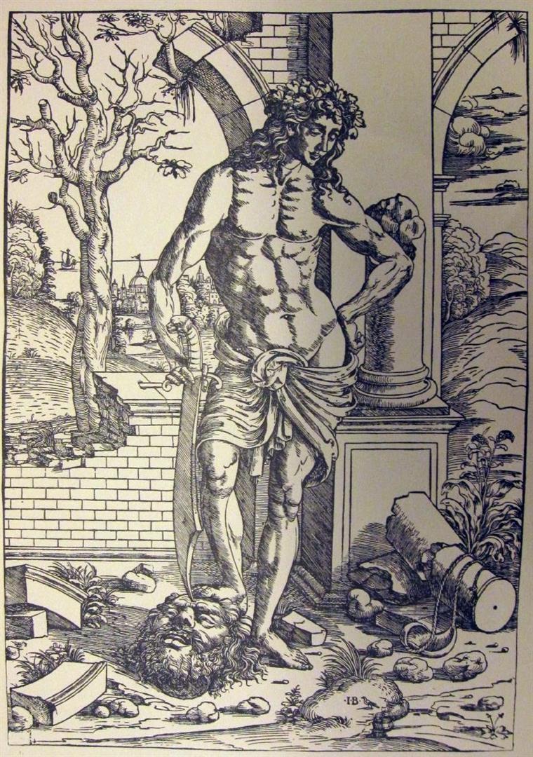 DAVID CON LA TESTA DI GOLIA v. anche David e Golia David decapita Golia
