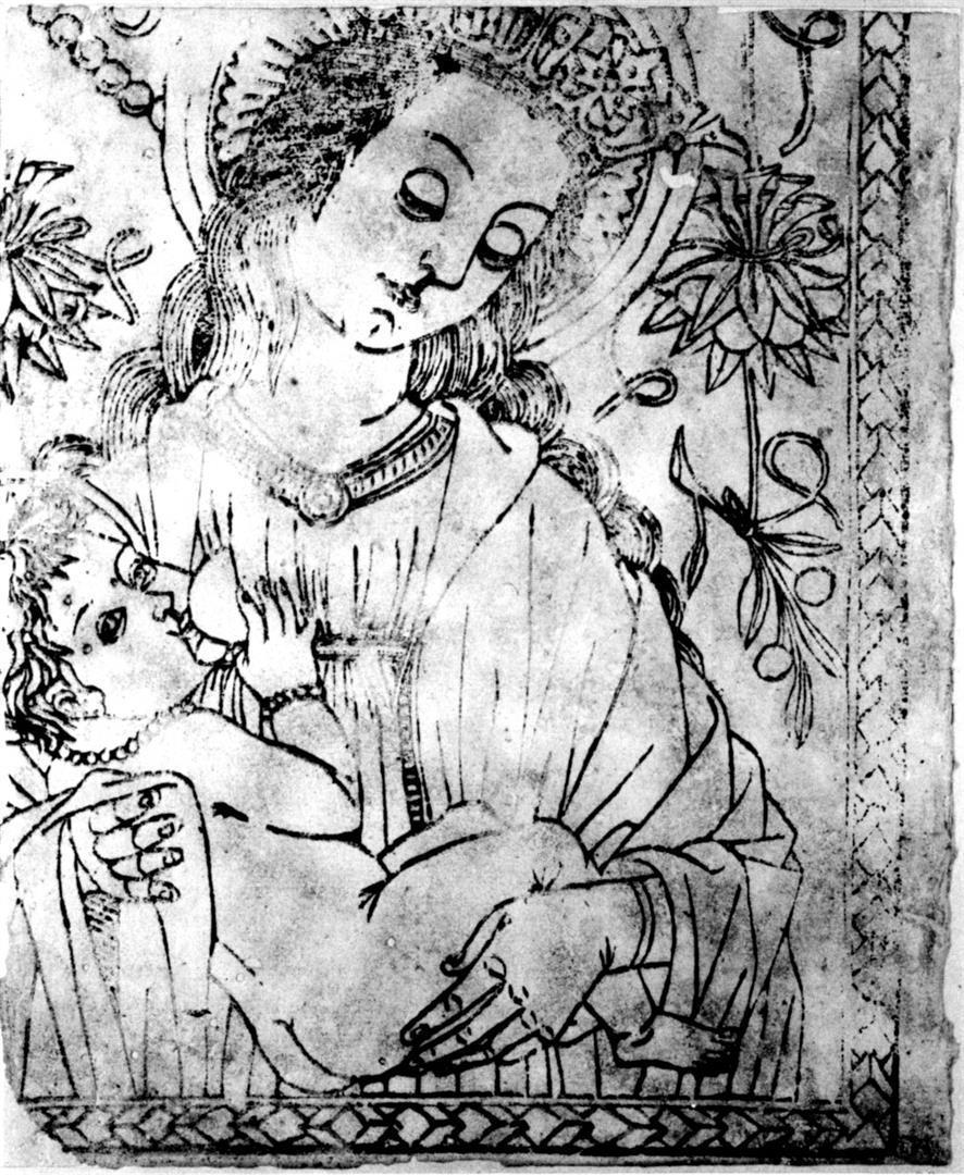 MADONNA CHE ALLATTA v. Madonna del latte