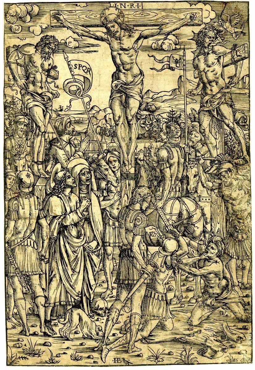 CROCIFISSIONE DI CRISTO v. anche Cristo Crocifisso e vari personaggi