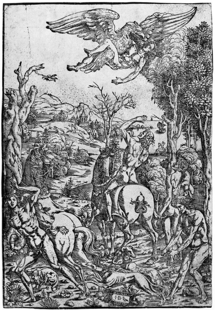GANIMEDE E L'AQUILA DI GIOVE v. Rapimento di Ganimede
