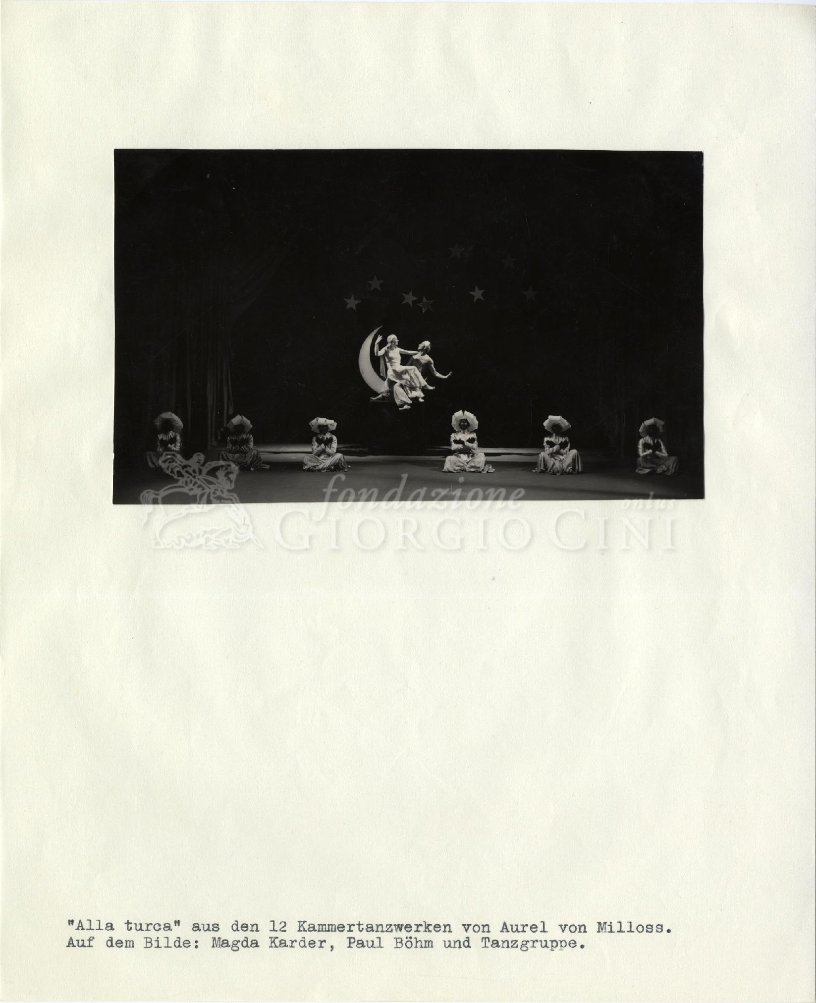 Stampa gelatina ai sali d'argento / carta incollata su foglio