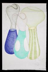Studio per vasi collezione Primaire (con modello IX) 1999
