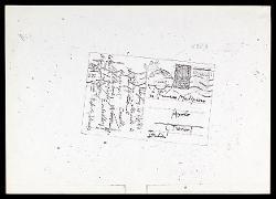 Cartolina di Alfredo Casella a Gian Francesco Malipiero, Salisburgo 06 agosto 1923
