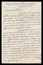 Lettera di Mario Castelnuovo-Tedesco a Alfredo Casella, Forte dei Marmi (Lucca) 30 giugno 1926