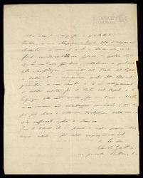 Lettera di Carlo Gatti a Alfredo Casella, Milano 07 luglio 1924