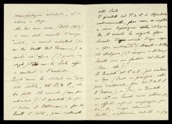 Lettera di Carlo Gatti a Alfredo Casella, Glorenza (Alto Adige) 18 luglio 1924