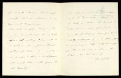 Lettera di Carlo Gatti a Alfredo Casella, Santa Margherita Ligure 12 luglio 1927