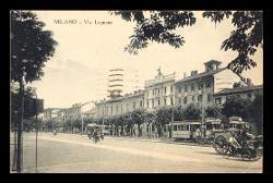 Cartolina illustrata di Carlo Gatti a Alfredo Casella, Milano 27 settembre 1935