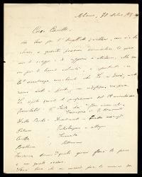 Lettera di Carlo Gatti a Alfredo Casella, Milano 30 ottobre 1935