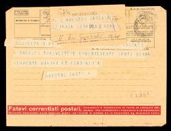 Telegramma di Carlo Gatti a Alfredo Casella, Milano [1942 ca.]