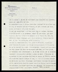 Lettera di Robert Aloys Mooser a Alfredo Casella, Ginevra 25 luglio 1939