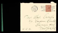 Lettera di Lionel Tertis a Alfredo Casella, Belmont (Surrey) 12 febbraio 1926