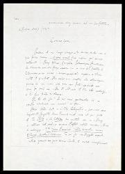 Lettera di Alfredo Casella a Mario Castelnuovo-Tedesco, L'Aubraie (Vendée) 27 agosto [1919]