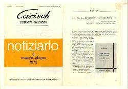 Nino Rota: Divertimento concertante per contrabbasso e orchestra  maggio 1973 - giugno 1973