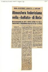 Atmosfera federiciana nella 'ballata' di Rota  12 agosto 1975