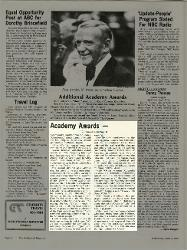 'Godfather II' Sweeps Oscars; Carney, Burstyn Win Honors  09 aprile 1975