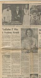 'Godfather II' Wins 6 Oscars  09 aprile 1975