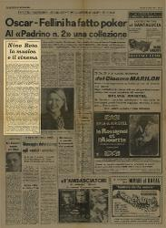 Nino Rota la musica e il cinema  10 aprile 1975