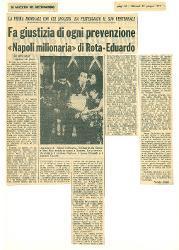 La prima mondiale con cui Spoleto ha festeggiato il suo ventennale. Fa giustizia di ogni prevenzione 'Napoli milionaria' di Rota-Eduardo  23 giugno 1977